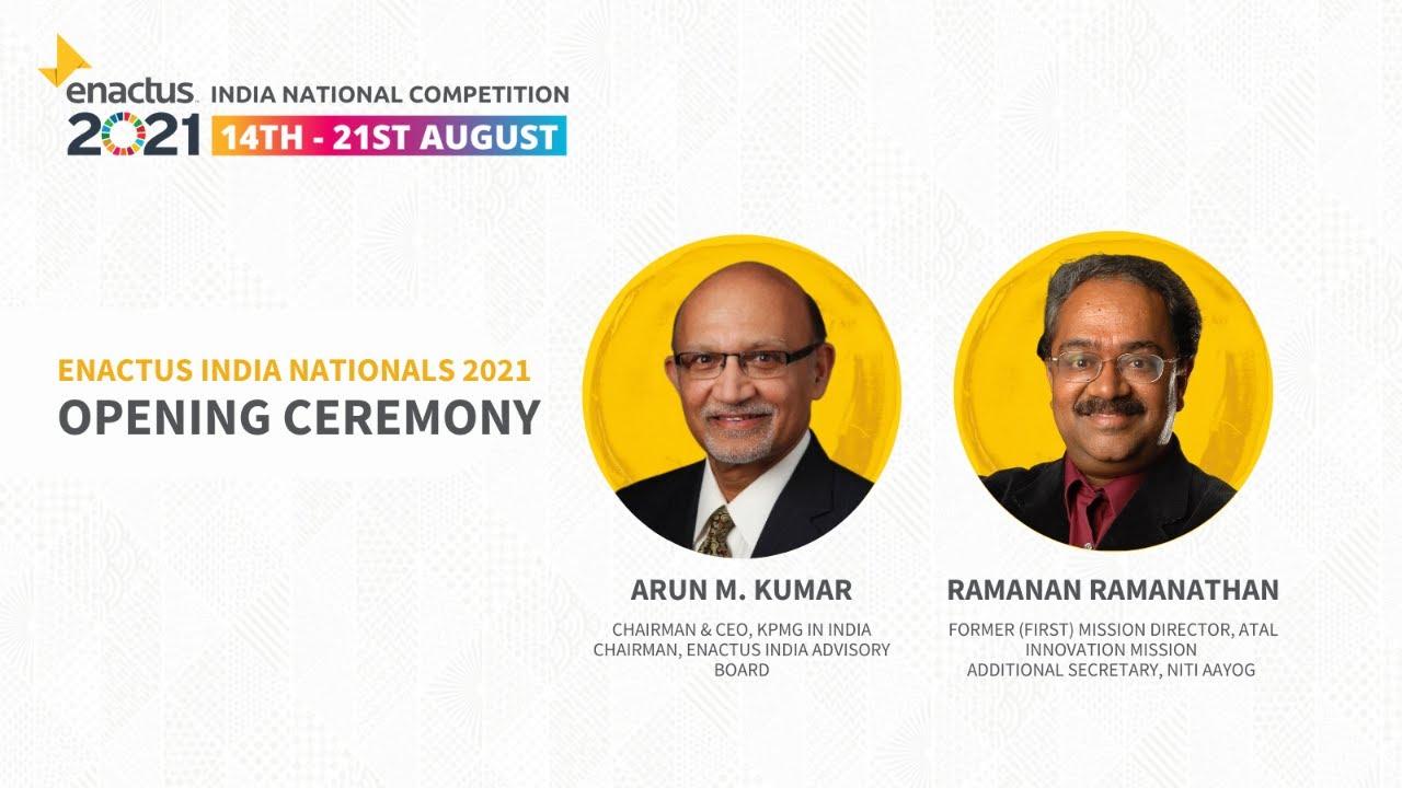 Enactus India 2021 | Opening of Enactus India National Competition 2021