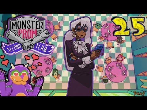Monster Prom SECRET Route - Faith (Witch of The Coven)