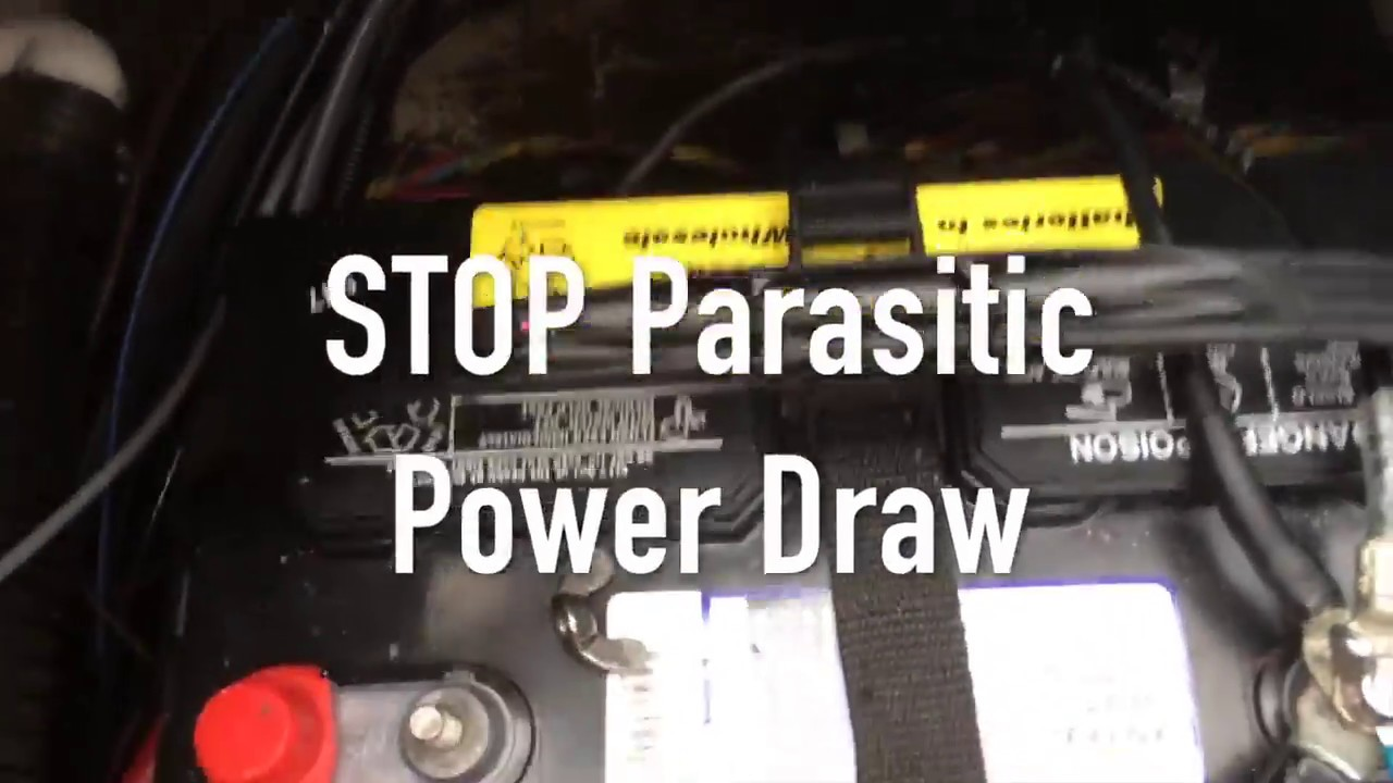 dual battery switch stop parasitic power loss on boat [ 1280 x 720 Pixel ]