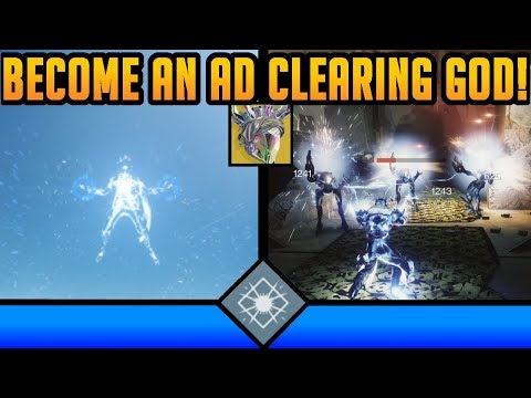 BECOME AN AD CLEARING GOD!! Super Fun Warlock Build! - Destiny 2: Shadowkeep
