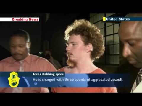 US student goes on stabbing spree in Texas