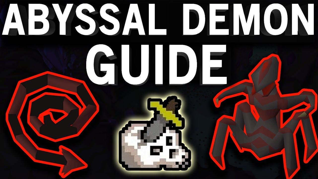 Abyssal Demons Guide OSRS - Melee Methods (Nov 2018)