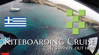 Kiteboarding Cruise: The Cyclades, Greece