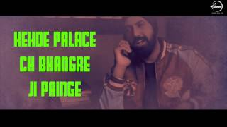 Choorhey Wali Bahh | Mankirt Aulakh | Parmish Verma| Lyrical Video | Speed Punjabi