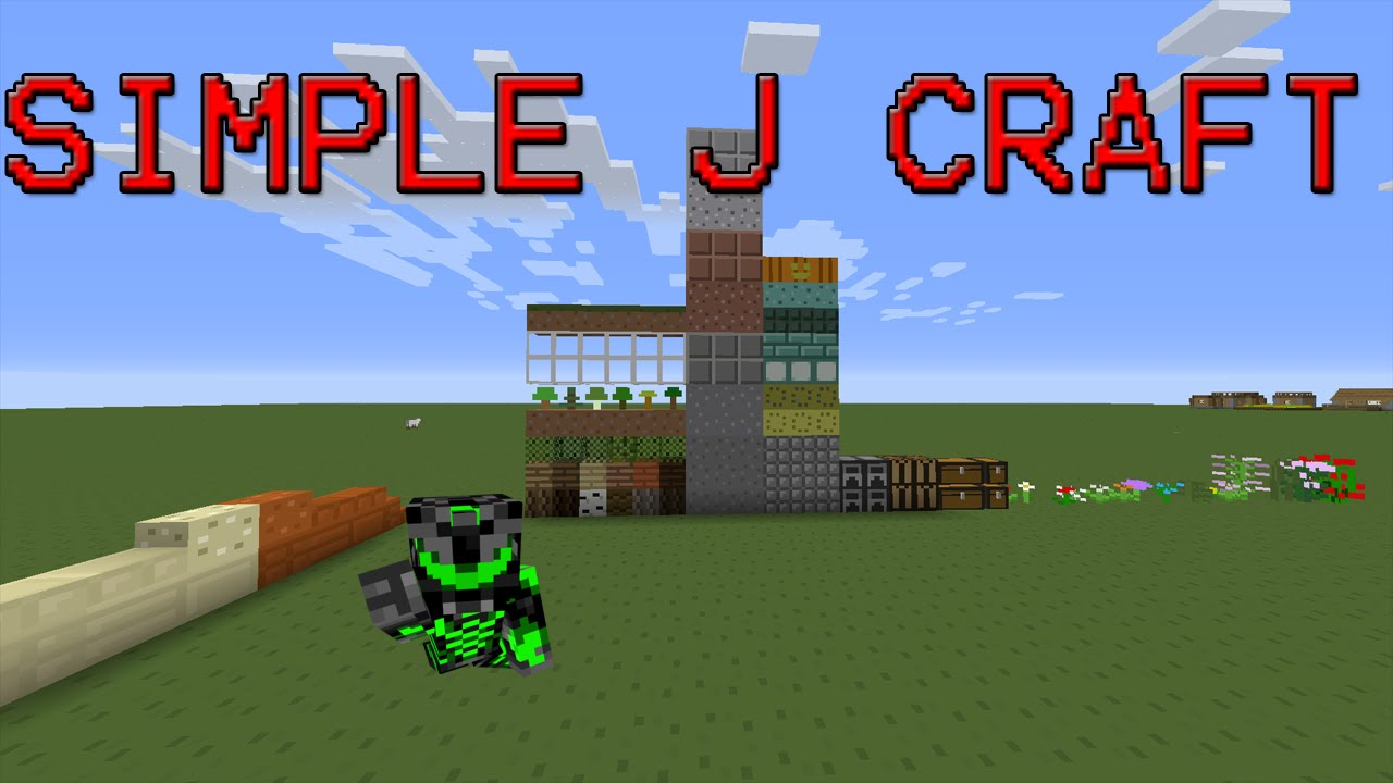 REVIEW SIMPLE J CRAFT Minecraft 18