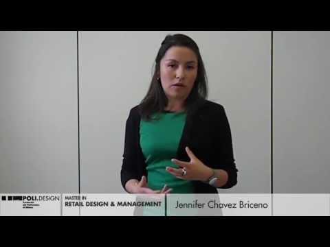 Videointervista a Jennifer Briceno, studentessa del Master in Retail Design & Management