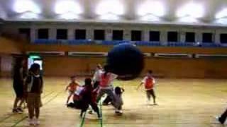 2007年8月28日 さいたまSC主催の夏休みスポーツ広場「KinBall教室 3」...