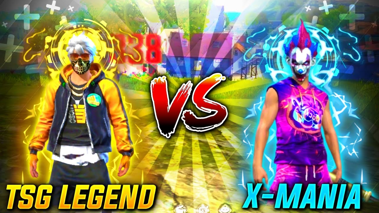TSG LEGEND VS X - MANIA SRV || AUKAT KI BAAT VERSUS 😂🤭 || MUST WATCH THIS EPIC BATTLE😈
