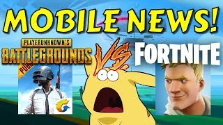 Mobile Gaming News: Fortnite vs. PUBG Mobile, Pokemon GO, and Android vs. iOS!