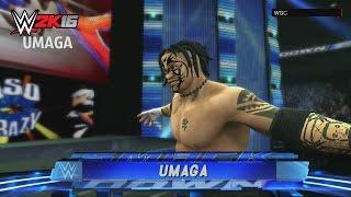WWE 2K16|COMMUNITY SHOWCASE:UMAGA(XBOX 360/PS3)