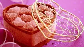 Фигурный кусковой сахар в виде сердечек