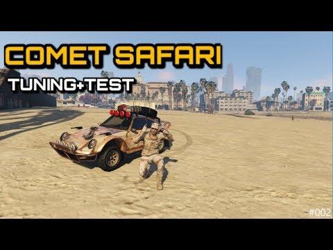 GTA 5 Online | Comet Safari (Bewaffnet) Tuning + Test [GERMAN/DEUTSCH]