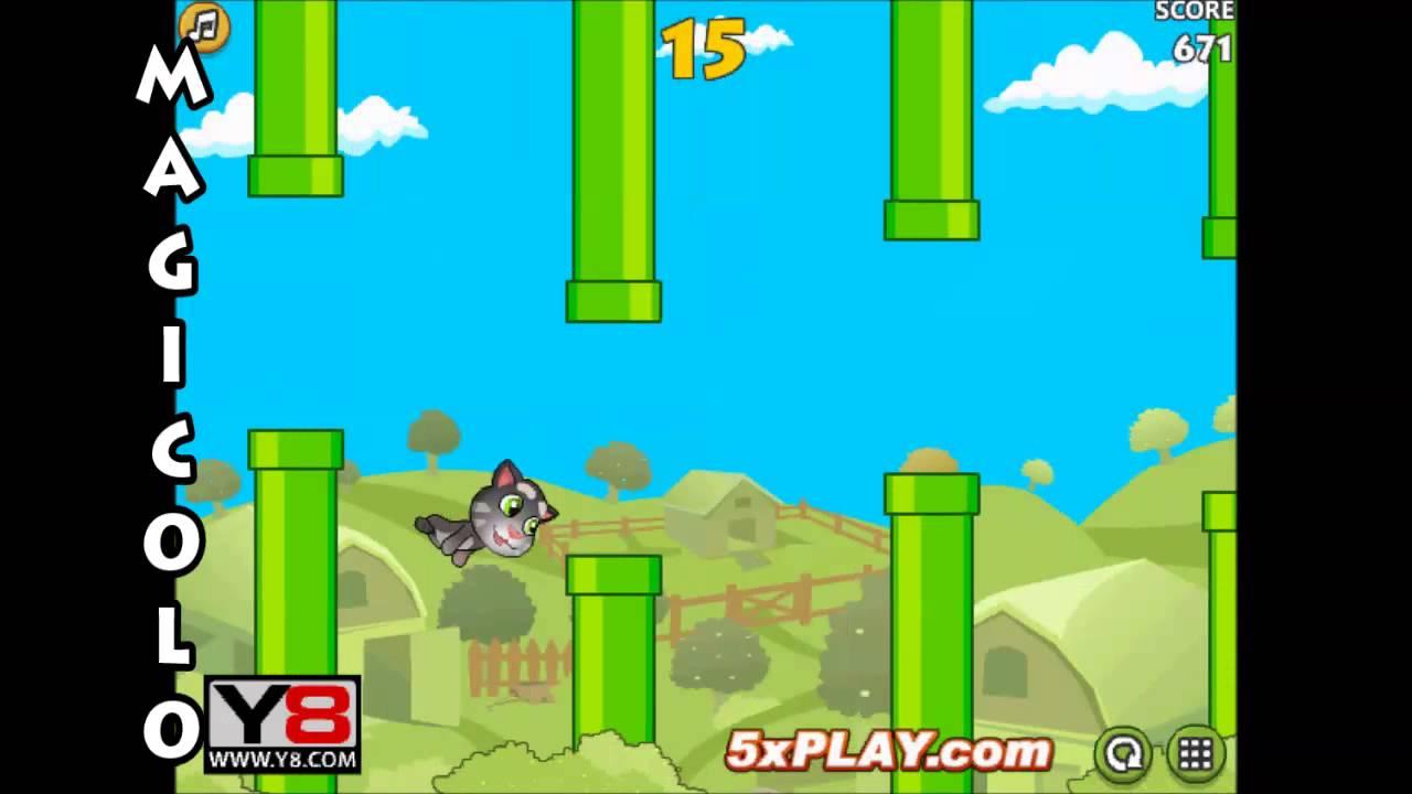 Flappy Talk Tom - Y8 g...Y8 Y8.com New Games