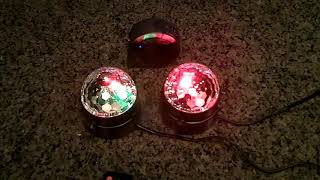 [2-Pack] AFBEST LED Party Lights with Remote Control Dj Lighting