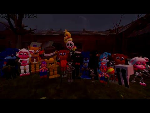 (Five Nights At Freddy's sfm animation) Five Nights At Freddy's World Song