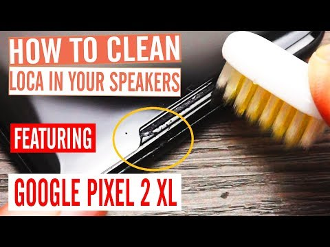InvisShield True Fit Google Pixel 2 XL Speaker LOCA Cleaning Guide - UV Adhesive Solution