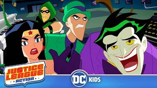 Justice League Action  Solving Riddles  DC Kids