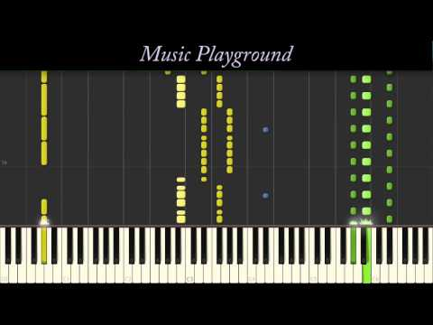 128 {IMPOSSIBLE} Ariana Grande - Problem Ft  Iggy Azalea - Piano - Full (Synthesia)
