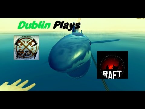 Water water everywhere and not a Beer to drink | Let's Play Raft Ep.1 | Raft Game Play