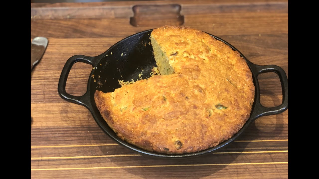 Quarantine Cast Iron Cornbread |Christine Cushing