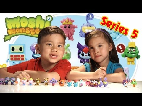 Moshi Monsters SERIES 5 Blister Packs! Opening 3 Ultra Rares and 2 Gold Moshlings!