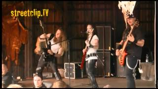 CRYSTAL VIPER - The Last Axeman - Live @ Headbangers Open Air 2011 - www.streetclip.tv