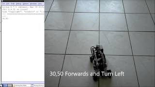 My BrickPi Robot with a Full Continuous Range of Motion