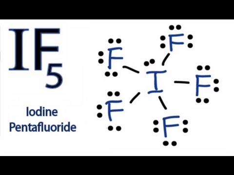 IF5 Lewis Structure: How to Draw the Lewis Structure for IF5