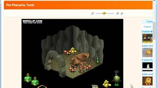 The Pharaohs Tomb 1001 Games Online