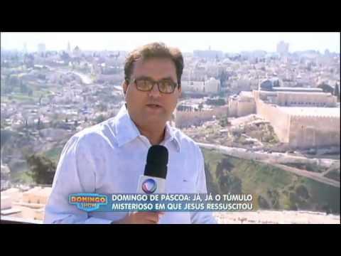 Geraldo Luís celebra domingo de Páscoa com reportagem feita em viagem a Jerusalém