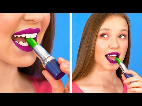 COOL WAYS TO SNEAK FOOD INTO CLASS || Back To School Hacks and Pranks by 123 GO!