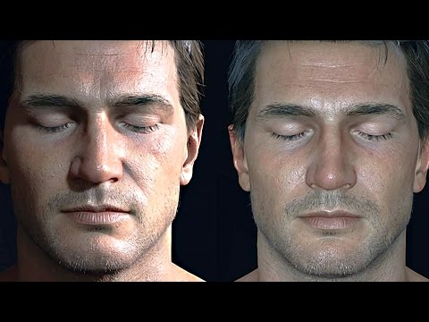 Uncharted 4 Nathan Drake 3D Model Tech Demo