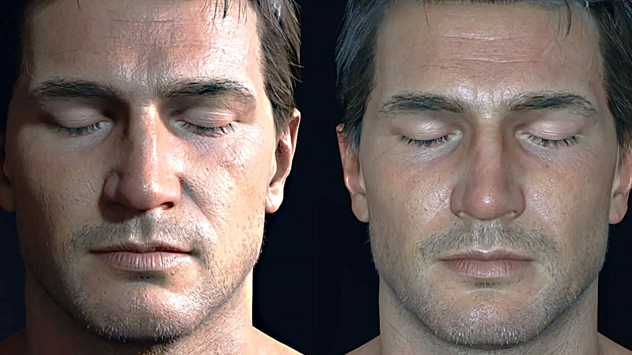 Uncharted 4 Nathan Drake 3d Model Tech Demo Youtube