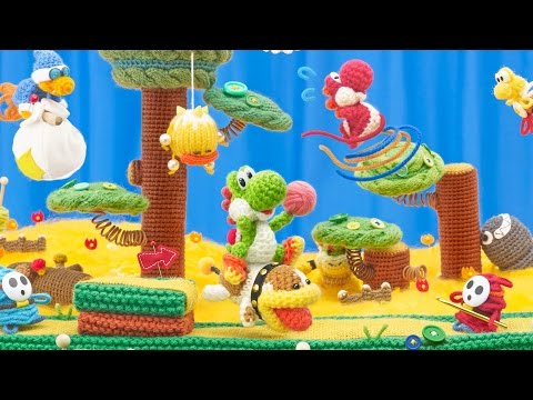 Yoshi's Wooly World Review / Análisis Videojuego (Wii U)