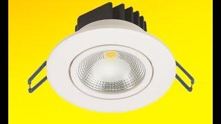 видео цены на точечные светильники