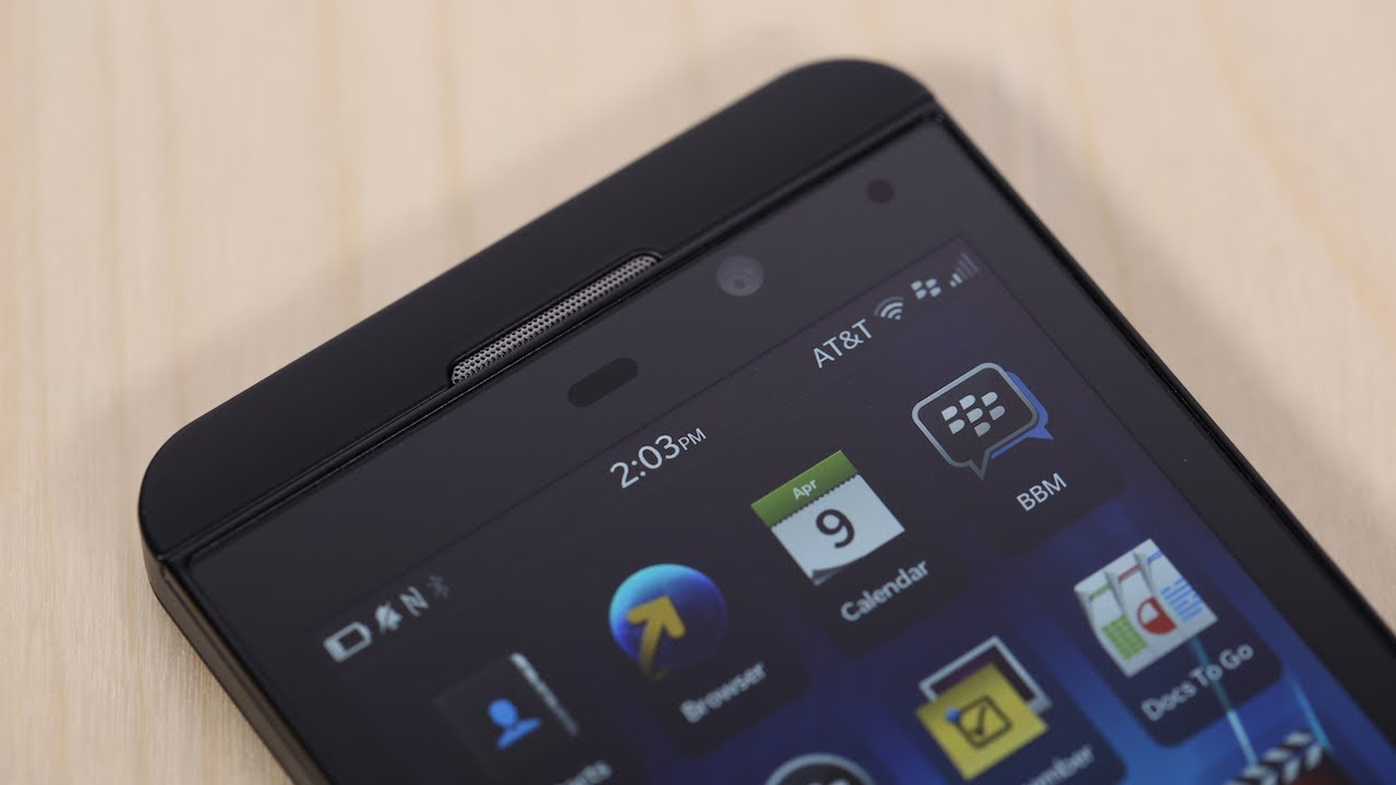 blackberry z10 review youtube