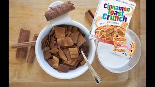 Homemade Healthy Cinnamon Toast Crunch Recipe
