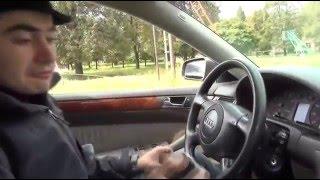 тест драйв Audi A6 C5 Quattro 2 8 193 л с Жорик Ревазов