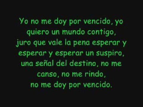 Yo No Me Doy Por Vencido - Luis Fonsi