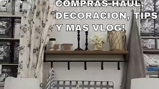 COMPRAS HAULS, DECORACION, TIPS Y MAS VLOG!