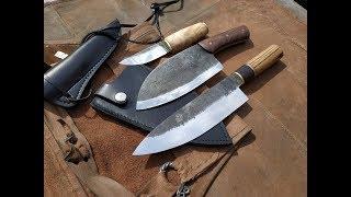 Кухонные ножи +шейник! Обзор, тесты!