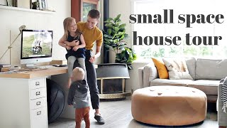 How We Live In A Small Space | Family Of 5 | HOUSE TOUR