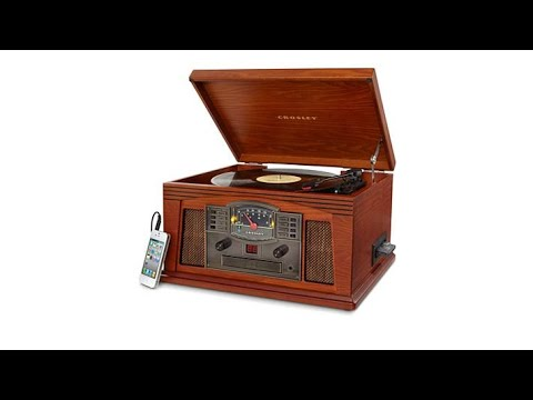 Crosley 3Speed Lancaster 5in1 Entertainment Center