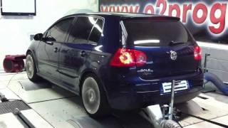 Volkswagen Golf 5 TDI 105@149ch o2programmation reprogrammation moteur test dyno