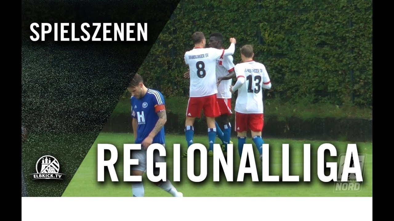 Hamburger SV II - SSV Jeddeloh (4. Spieltag, Regionalliga Nord)