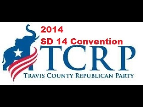 2014 Republican Party of Texas  SD14 convention