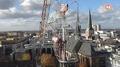 So kommt der Engel auf den Dortmunder Weihnachtsbaum