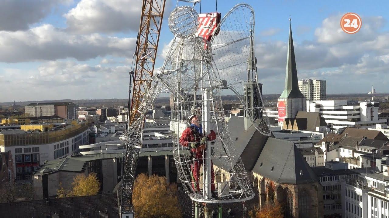 Dortmund Weihnachtsbaum Kaufen.So Kommt Der Engel Auf Den Dortmunder Weihnachtsbaum