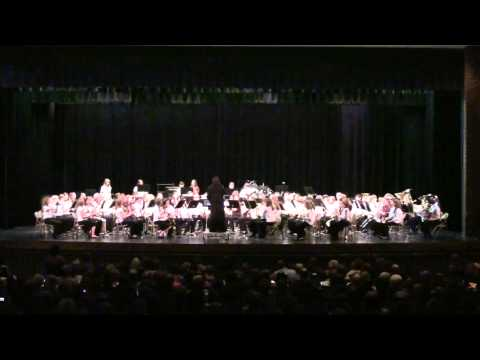 2012 Virginia District V Middle School Band