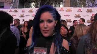 Repeat youtube video Arch Enemy at REVOLVER GOLDEN GODS 2014   Metal Injection